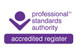 Proffesional Standards Authority Logo