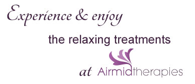 Experience & enjoy the exceptional treatments at Airmid Therapies